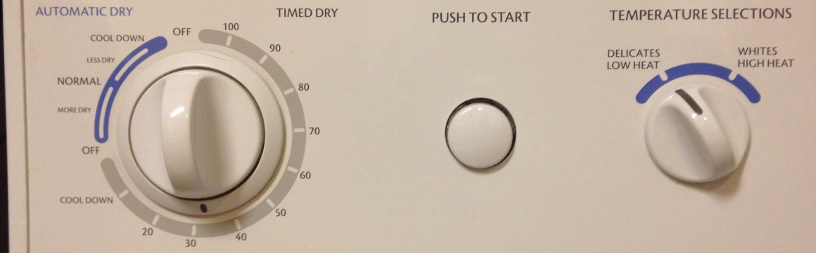 Washer - Dryer Controls